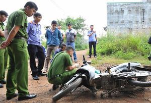 Bắt nhóm cướp gây án ở chân cầu Thanh Trì
