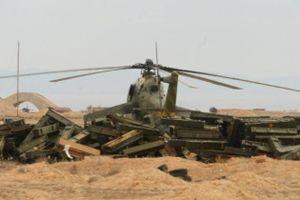Binh sĩ Nga tử nạn sau khi bị IS tấn công máy bay trực thăng ở Syria?