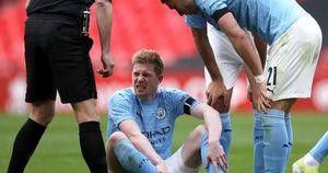 De Bruyne chấn thương, Man City vỡ mộng ăn 4 trước Chelsea