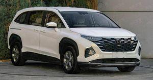 Hyundai Custo gầm cao 7 chỗ lộ diện, chuẩn bị ra mắt
