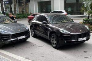 2 xe Porsche cùng biển số 'gặp nhau' ở sảnh chung cư