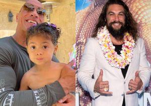 Con gái The Rock là fan của 'Aquaman' Jason Momoa