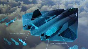 Cận cảnh chiến đấu cơ bí mật mới của Không quân Mỹ