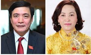 Bổ nhiệm Chủ nhiệm Văn phòng Quốc hội và Trưởng Ban công tác đại biểu