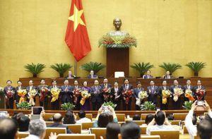 Nghị quyết miễn nhiệm, bầu một số chức danh lãnh đạo Nhà nước, Chính phủ, Quốc hội