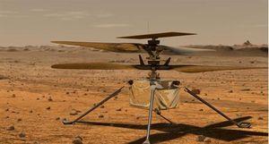 Trực thăng NASA lập kỳ tích với chuyến bay lịch sử trên hành tinh đỏ