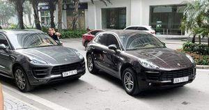 Xác minh 2 xe Porsche cùng biển số, cùng đỗ ở sảnh chung cư Hà Nội