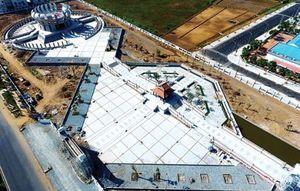 Công trình Đền thờ các vua Hùng tại TP Cần Thơ sẵn sàng cho ngày Giỗ Tổ