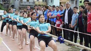 Khai mạc Giải vô địch Đẩy gậy và Giải vô địch Kéo co toàn quốc năm 2021
