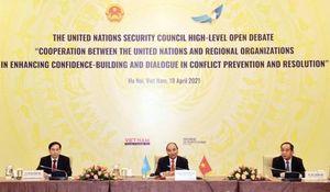 Quốc tế đánh giá cao phiên họp thúc đẩy hợp tác LHQ và các tổ chức khu vực do Việt Nam chủ trì