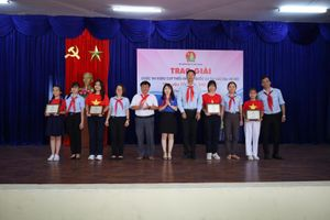 Nha Trang: Trao giải cuộc thi Video clip thiếu nhi hát Quốc ca tại các địa chỉ đỏ