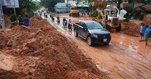 Hiểm họa lũ cát từ dự án bất động sản trên cao