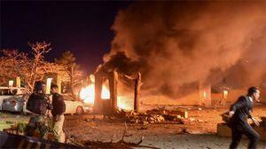 Hiện trường vụ đánh bom khách sạn Pakistan nơi có phái đoàn TQ lưu trú