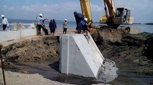 Dự án kè biển bị Thanh tra Chính phủ chỉ rõ vi phạm luật Đấu thầu tại Huế