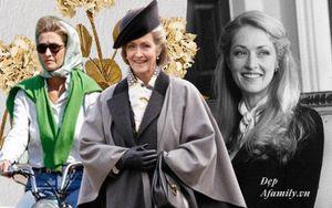 Bạn tâm giao kém 32 tuổi của Hoàng tế Philip: Nhan sắc đẹp mặn mà cùng style luôn giữ chuẩn mực Hoàng gia