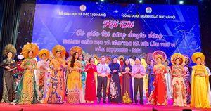 Hội thi 'Cô giáo tài năng duyên dáng' ngành GD&ĐT Thủ đô: Lan tỏa lòng tự hào, tình yêu nghề và tinh thần cống hiến