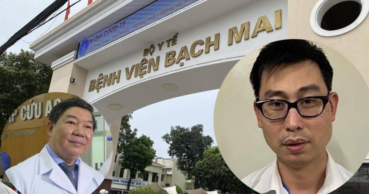 Những ai nhận 'lại quả' vụ 'thổi giá' thiết bị y tế ở Bệnh viện Bạch Mai?
