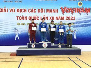 Đồng Nai giành 3 HCB, 3 HCĐ Giải vô địch các đội mạnh Vovinam toàn quốc 2021