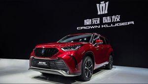 Toyota Crown Kluger ra mắt tại Triển lãm Ôtô Thượng Hải 2021