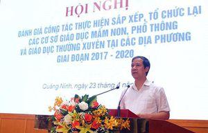 Bộ trưởng Nguyễn Kim Sơn: Việc lớn phải bắt đầu từ việc nhỏ