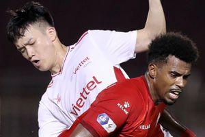 Highlights CLB Viettel rơi chiến thắng trước đội TP.HCM