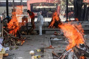 Ấn Độ không kịp thiêu người chết vì con số tử vong COVID-19 tăng nhanh