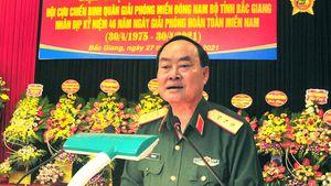 Cựu chiến binh Quân giải phóng miền Đông Nam Bộ gặp mặt truyền thống