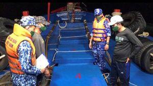 60 nghìn lít dầu D.O không rõ nguồn gốc bị phát hiện trên vùng biển Tây Nam