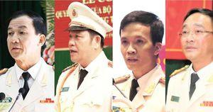 Chân dung 4 giám đốc công an tỉnh vừa được điều động, bổ nhiệm