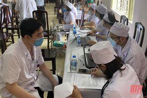 Thanh Hóa: 14.864 người được tiêm vắc xin phòng COVID-19