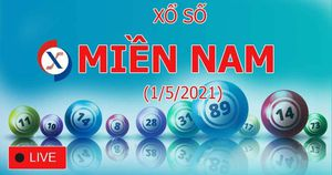 XSMN 1/5: Kết quả xổ số miền Nam hôm nay