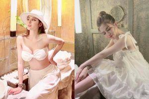 Hậu ly hôn, vợ cũ Huy Cung khoe ảnh diện bikini nóng bỏng