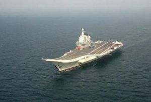 Tàu sân bay Trung Quốc tập trận trên Biển Đông