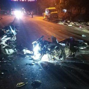 Chưa có bằng lái, nam thanh niên phóng xe tốc độ cao gây tai nạn khiến 4 người thương vong
