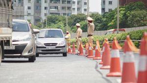 Giao thông bớt 'nóng' ngày người dân trở lại Thủ đô sau kỳ nghỉ lễ