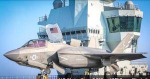 Vì sao Mỹ lại triển khai tiêm kích F-35 trên tàu sân bay Anh?