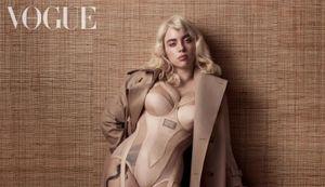 Billie Eilish lột xác với ngoại hình đốt mắt trên bìa tờ Vogue