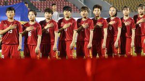 Tuyển nữ Việt Nam lên hạng 33 thế giới