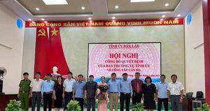 Không trúng Bí thư Huyện ủy Lắk, phó chánh VP UBND được điều động làm bí thư huyện khác