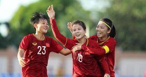 Đội tuyển nữ Việt Nam lên hạng 33 thế giới, dẫn đầu Đông Nam Á