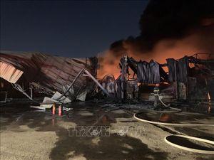 Liên tiếp xảy ra ba vụ cháy lớn tại Bình Dương