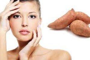 3 cách dưỡng trắng da mặt từ Khoai lang