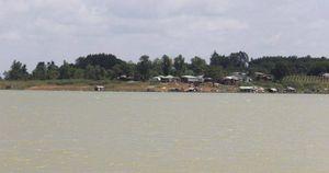 Xót xa 2 học sinh trượt chân xuống hồ Trị An chết đuối
