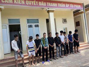 Thanh Hóa: Bắt giữ nhóm thanh niên tàng trữ, sử dụng trái phép chất ma túy tại khu nhà trọ
