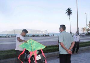 Khánh Hòa xử phạt 9 người không đeo khẩu trang nơi công cộng