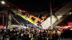 Sập đường sắt trên cao, 24 người thiệt mạng và nhiều người bị thương