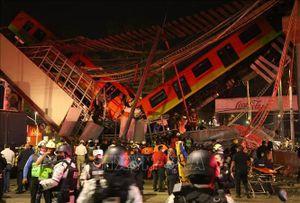 Vụ sập đường sắt trên cao tại Mexico: Số người thiệt mạng tăng lên 24