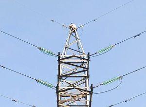 TP.HCM: Giải cứu người phụ nữ cố thủ trên cột điện cao thế