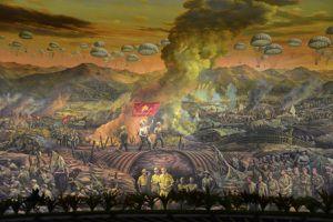 Bức tranh toàn cảnh Panorama - thêm dấu ấn về Chiến dịch Điện Biên Phủ