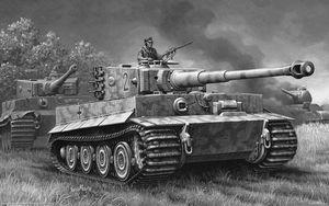 Xe tăng Tiger: Sức mạnh thật hay chỉ là sản phẩm tuyên truyền?